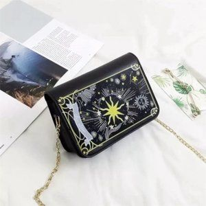 Tarot crossbody shoulder bag the star purse goth